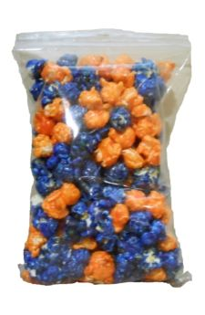 Need to do this for this next football season for my hubby...  Boise State Broncos Blue & Orange Popcorn