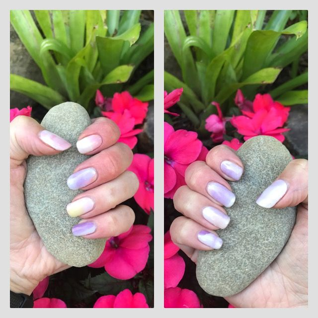 Jamberry Aquarelle Watercolour nails