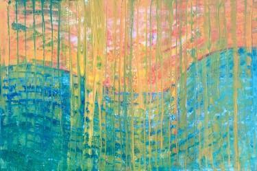 "Saatchi Art Artist Agata Padol; Painting, ""Valley"" #art"