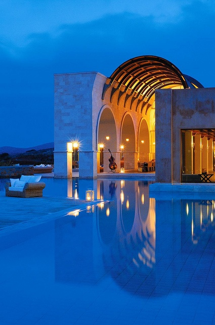 Blue Palace Hotel and Spa, Crete, Greece