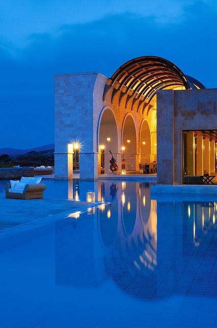 Blue Palace Hotel and Spa, Crete, Greece