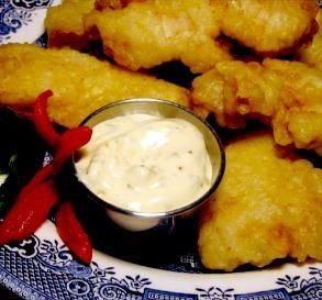 "Long John Silver's Fish Batter: ""This will be my only recipe for fish or onion rings. It made the prettiest fried fish I have ever cooked — not to mention it tasted great. It's perfection.""  -Lisajane0007"