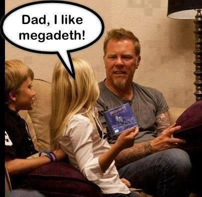#metallica #fun #megadeth