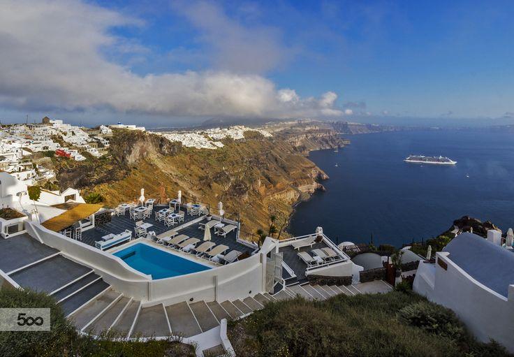 View of Santorini by Nicolas Mitkanis on 500px