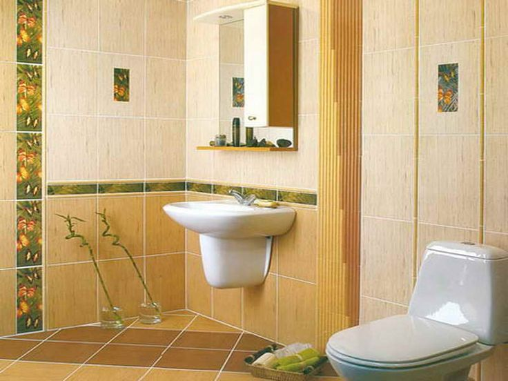 Bath Wall Tile Designs With Yellow Tile, Bathroom Wall Tiles Design, Half  Bath Wall Tile Ideas ~ Home Design