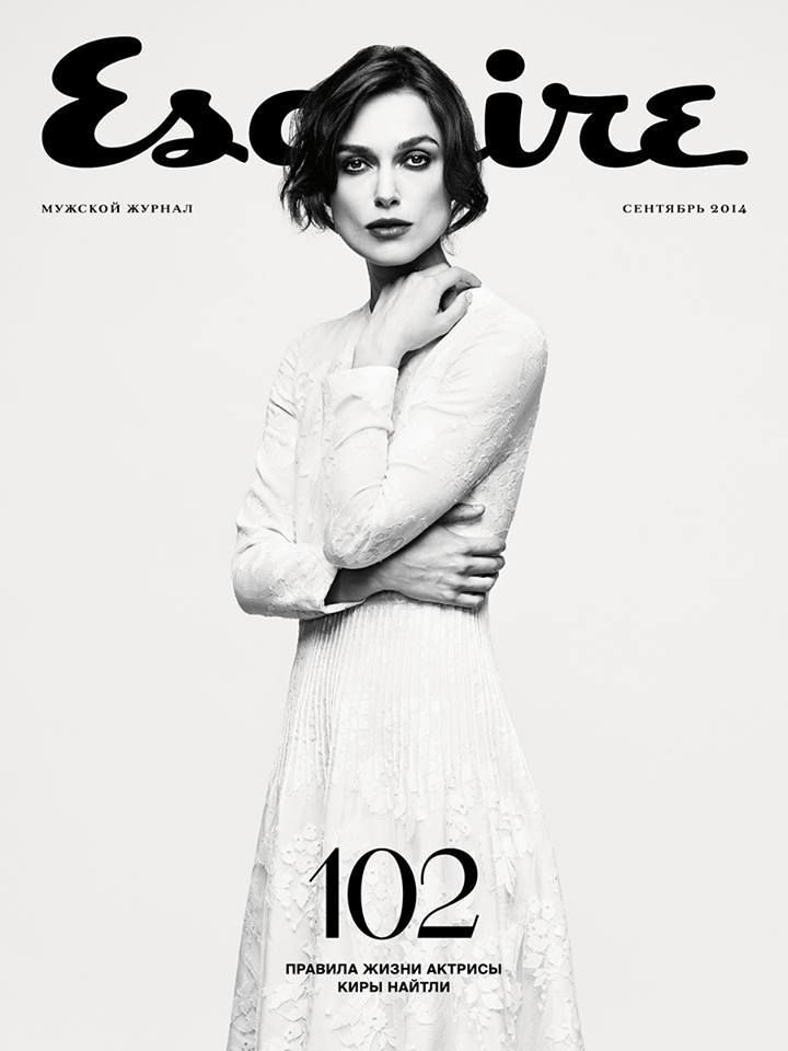 Keira Knightley for Esquire Russia September 2014 #covers