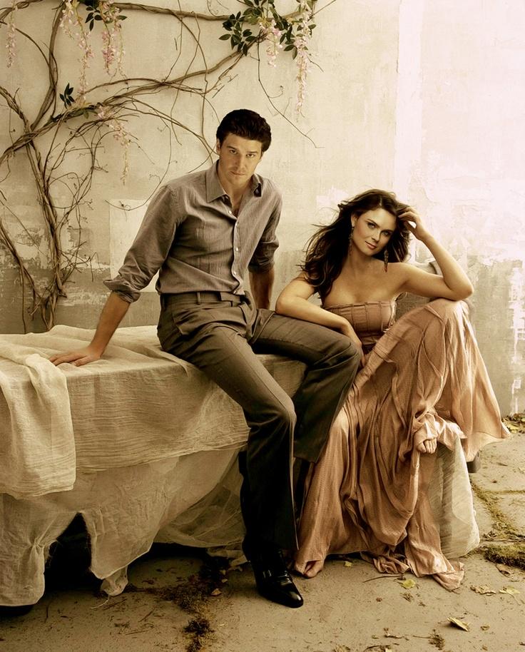 David Boreanaz And Emily Deschanel Photo Shoot