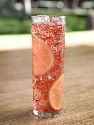 1 oz. Voli Lyte  1 oz. Thatcher's Yumberry Liqueur  1 oz. cranberry juice  2 oz. club soda  Garnish: lemon wheel    Read more: Low Calorie Cocktails - Recipes for Low Cal Cocktails - Cosmopolitan: Cocktail Recipes, Drank, Cheer, Food, Coolers, Alcoholic Drinks, Glass, Low Calorie Cocktails