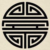 Shou, Chinese,good luck charm, symbol long life / T-Shirts