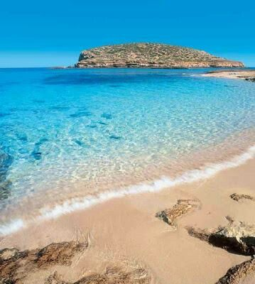 Ibiza, Spain. This could be where we will be sitting in a year.