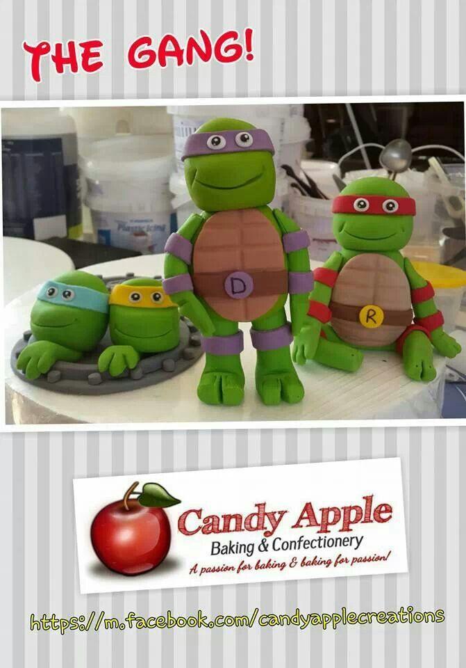 Ninja Turtles https://m.facebook.com/candyapplecreations