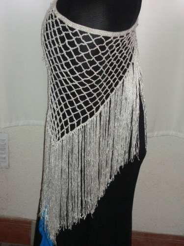 caderines tejidos, para danza árabe, tribal, gipsy