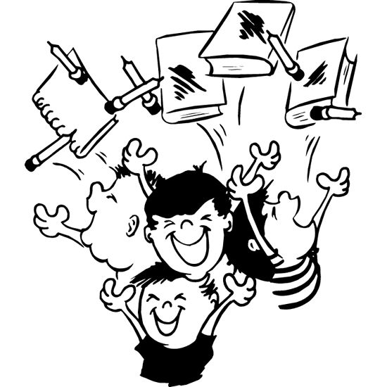 schools out coloring pages imagination - photo#10