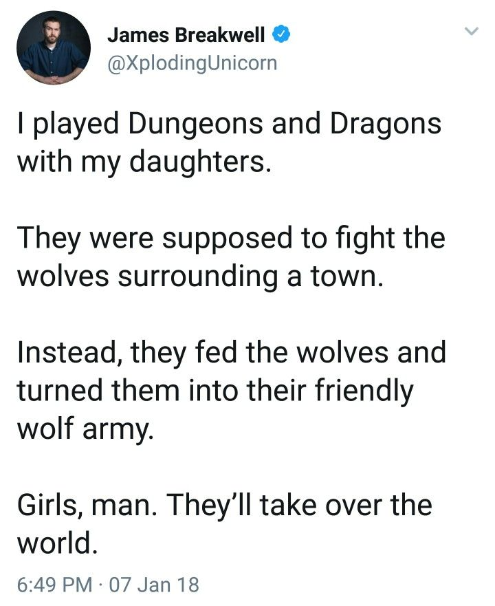 Girls will rule the world