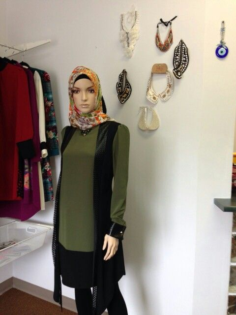 Pastel Green Long Sleeve Tunic | Come visit our store at 490 Wonderland Rd.S. or visit www.shawlworld.ca for more information  #LdnOnt #London #ForestCity #YXU #Ontario #Canada #UWO #WesternU #2015 #Scarf #Shawl #boutique #Canadian #Muslim #Women #clothing #scarves #hijab #shopping #fashion #canadianstyle #currentlywearing #whatiwore #fashionblogger #shopping #gta #mothersday #summer #april #thursday