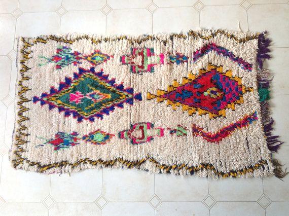 AZILAL. Tappeto marocchino dell