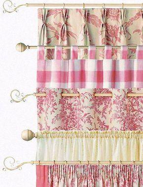 16 best sheer kitchen curtains images on pinterest for Estilos de cortinas