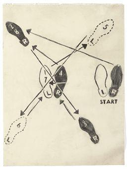 Charleston Dance Diagram -Gatsby