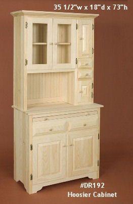 Unfinished Pine Furniture| Penn Dutch Furniture