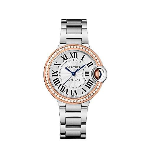 http://ift.tt/2s0OaIs Check Price https://goo.gl/d6bSKH  Cartier Ballon Bleu Silver Dial Stainless Steel Diamond Ladies Watch WE902080                            - WITH MANUFACTURER SERIAL NUMBERS  - Guilloche Silver Roman Numeral Dial  - Solid 18k Rose Gold Bezel - 50 Diamonds Set on Bezel - Total Diamond Weight: .63ct - Crown Set with Sapphire Cabochon - Self Winding Automatic Movement - Guaranteed Authentic  - Certificate of Authenticity - Manufacturer Box & Manual - Brushed with Polished…