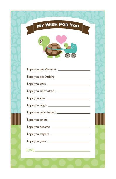 Instant Download Green Turtle Baby Shower Games by Studio20Designs