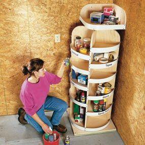 Garage storage ideas...  :-)