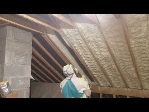 Cpi Spray Foam Insulation Attic Insulation Wall Insulation And Shed Insulation Contractors Ireland Using Nsai Cer Attic Insulation Spray Foam Foam Insulation