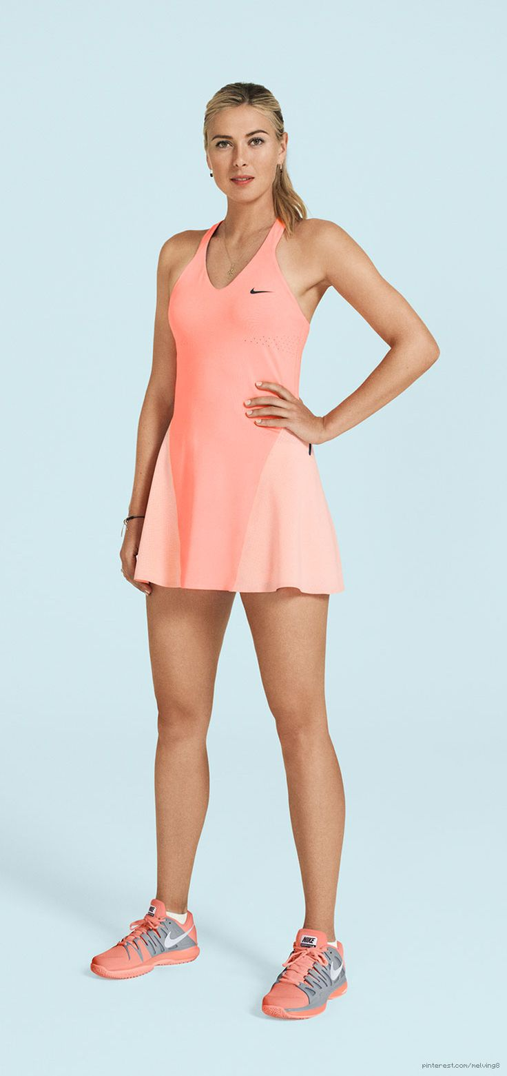in love with this color. tennis matches are prettier in dresses