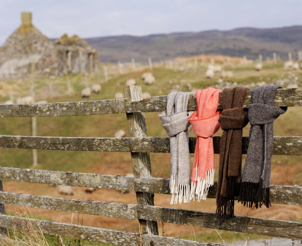 Ardalanish Isle of Mull Weavers - organic tweed.