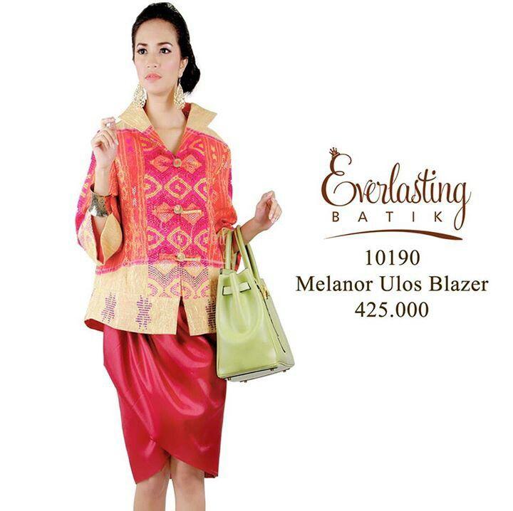 Tenun blazer from Everlasting batik #ikat