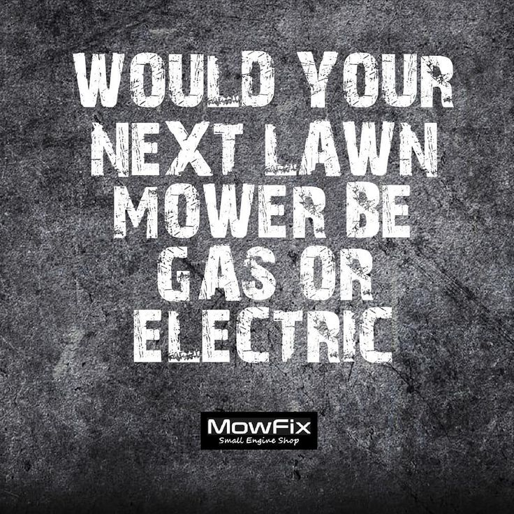 Would you switch from gas to electric and why? Or maybe you have an electric (cordless )mower how do you like it compared to a gas mower? . . . . . . . #etobicoke #mississauga #portcredit #mimico #oakville #lakeshore #mower #snowblower #smallengine #honda #toro #snowblower #repairs #mechanic #mobileservice #snowblowertip #oilchange #mowfix
