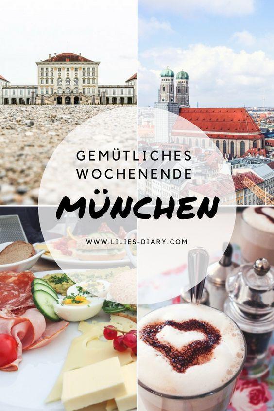 München ganz entspannt! Viele schöne Tipps für ein gemütliches und erholsames Wochenende in München. #munich #citytrip #münchen
