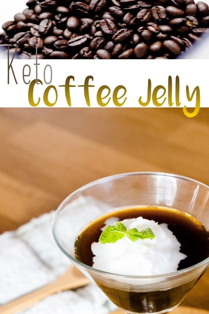 Coffee Jelly Low Carb