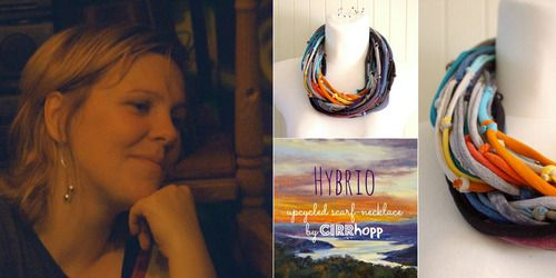 The Hungarian Cirrhopprecycle produces accesories and jewelry using non-allergic, re-usable cotton as the primary material. Presenting you the person behind this idea, Kinga Balogh, and her story! www.shoptsie.com
