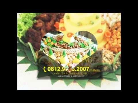 WA 081293232007 (Tsel)   Nasi Tumpeng Bekasi, Pesan Tumpeng - Dapur Hana Catering - YouTube