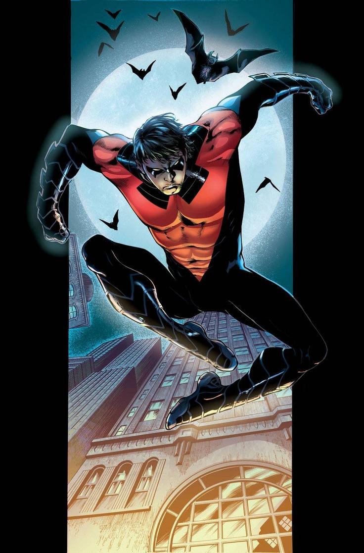 Nightwing--favorite comic character.