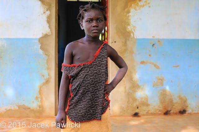 JACEK PAWLICKI - PICTURES: Guinea Bissau, Bijagos Archipelago, The Girl from ...