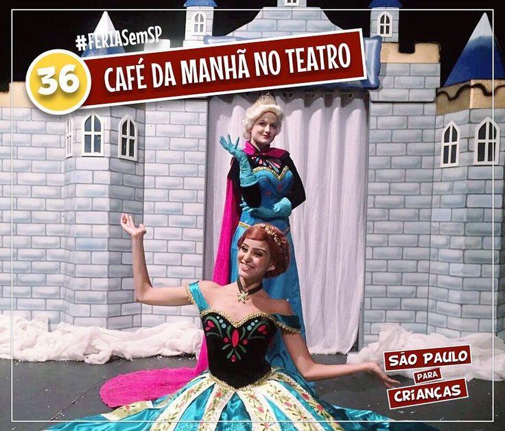 #DESAFIO #100PASSEIOS #FERIAS #PARTICIPE #PASSEIOSEMSP Tomar café da manhã com #Anna e #Elsa de Frozen? Sim, isso EXISTE em #SP, essa cidade incrível! O Café da manhã com as Princesas no teatro + espetáculo, promovido pela Teatro é 1 Barato é nosso passeio de número 36!  O último desta temporada acontece #domingo, 30 de julho, no Teatro Brigadeiro. E Aí? VOCÊ JÁ FOI? Comente marcando o #100passeios e conte para gente sua opinião! Quem quiser conferir, nossos leitores tem desconto e pagam…
