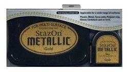 StazOn - inkoustová poduška / Gold