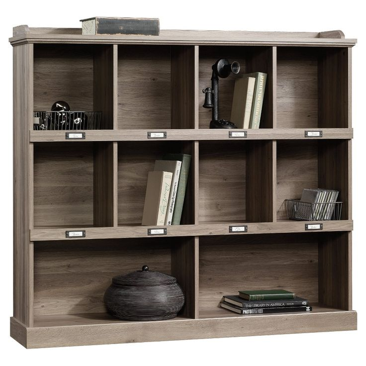 Barrister Lane Bookcase Sauder Salt Oak