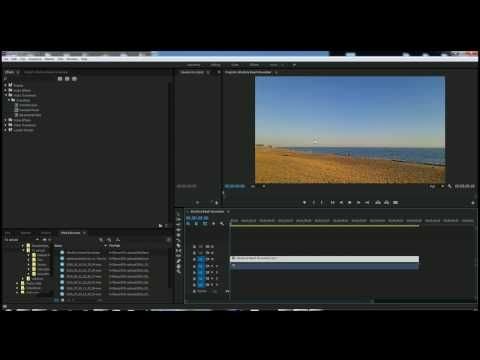 Adobe Premiere Pro CC How to remove and change sound - YouTube