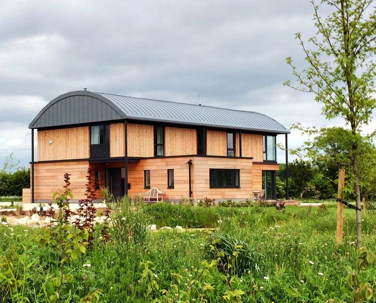 WEST PEARROC (Para 55). The landscaping is settling in amazingly well.  We're delighted with how well this Para 55 building responds to and significantly enhances its setting. Bold and unapologetic yet clearly rooted and well placed in the hierarchy of buildings that comprise this farmstead complex.