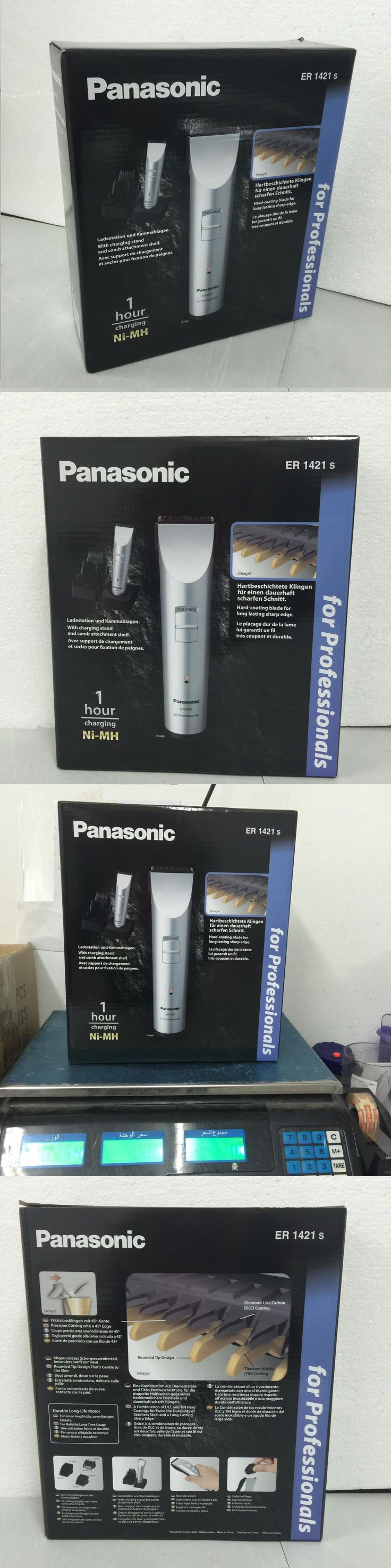 Clipper and Trimmer Parts: Panasonic Er1421s New Professional Electric Hair Clippers Trimmer Hair Cut 1421 BUY IT NOW ONLY: $99.4