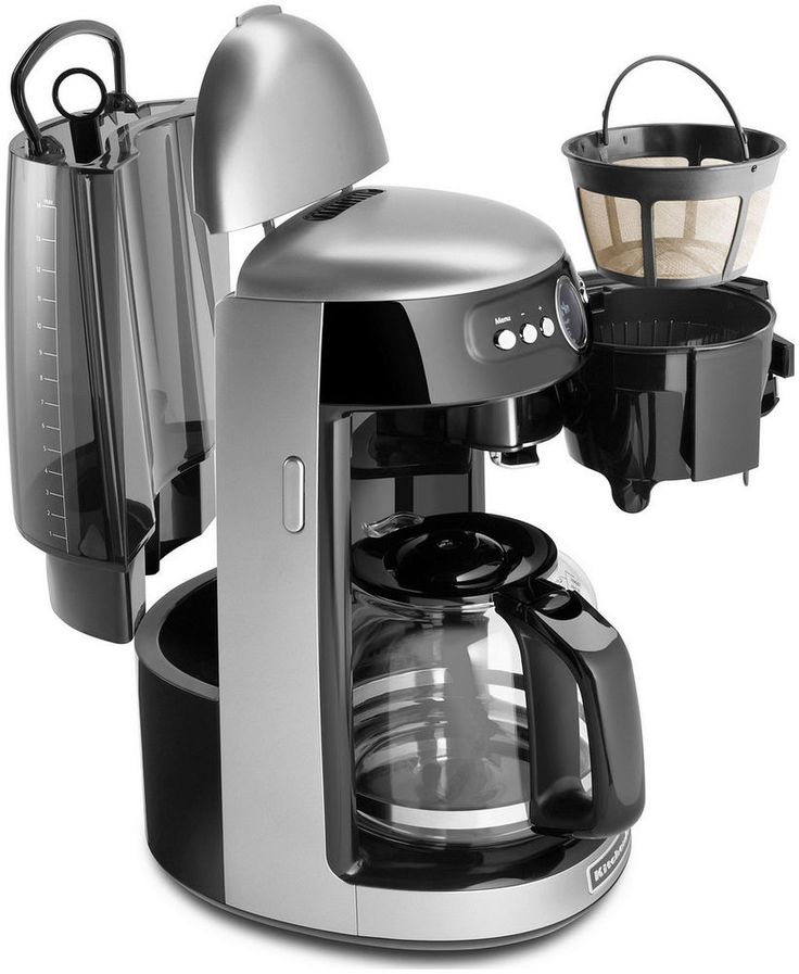 Coffee Makers with Grinder for Simplicity of Life : Modern Design Coffeemaker With Grinder Fantastic