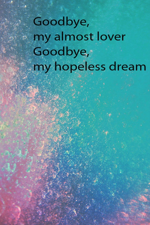 Miley cyrus say goodbye lyrics
