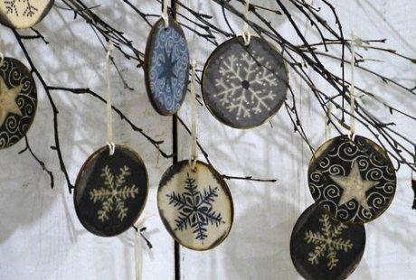 Vyrobte si sami domácí dekorace na vánoční stromeček - Bytové doplňky a dekorace | Nábytek a dekorace