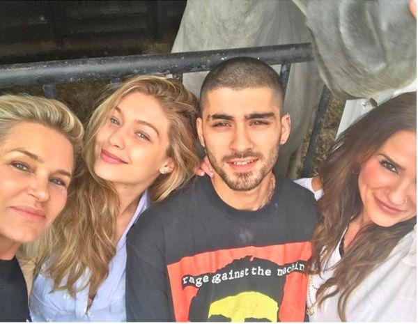 Gigi Hadid And Zayn Malik Adorably Spent Eid Al-Adha With Their Moms | HuffPost