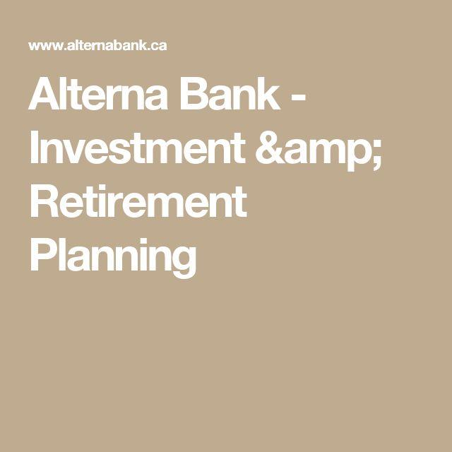 Alterna Bank - Investment & Retirement Planning