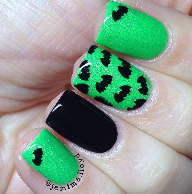185 mejores imágenes de Halloween Manicures en Pinterest | Arte ...