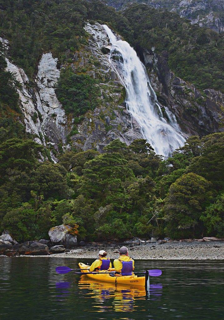 2. Derek's capture whilst out kayaking on Milford Sound.   #milfordsound #milfordtrack #fiordland #newzealandhiking #hikingnewzealand